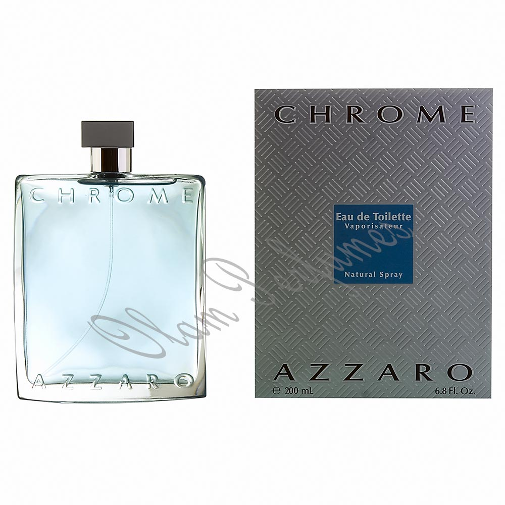 AZZARO CHROME EAU DE TOILETTE SPRAY 3.4oz