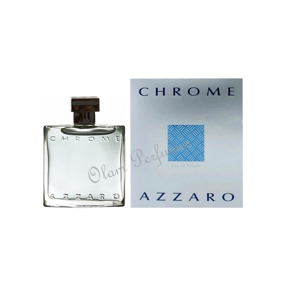 Azzaro Chrome Eau De Toilette Spray 1.0oz 30ml