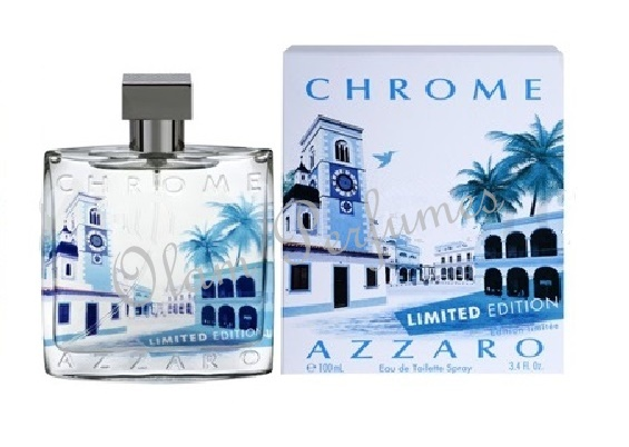 Azzaro Chrome Limited Edition Eau de Toilette Spray 3.4oz 100ml