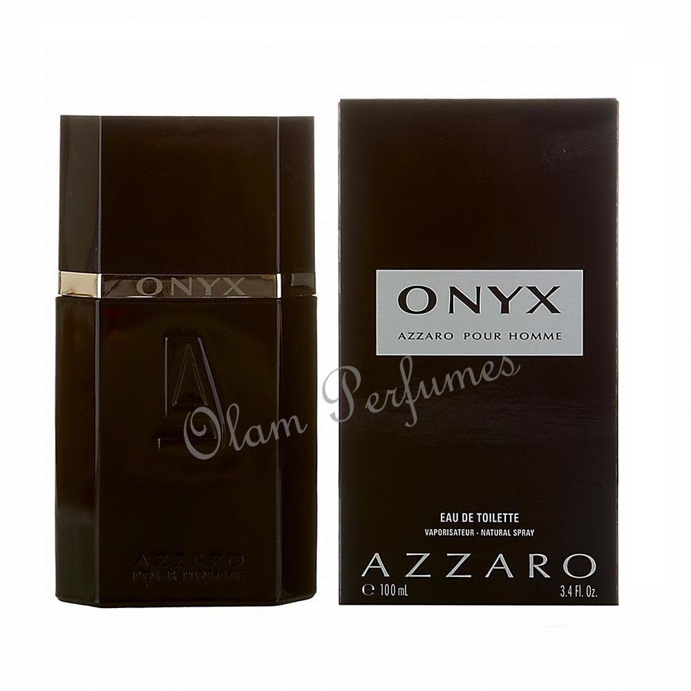 Azzaro Onyx Eau De Toilette Spray 3.4oz 100ml
