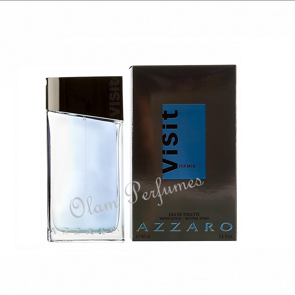 Azzaro Visit For Men Eau De Toilette Spray 3.3oz 100ml