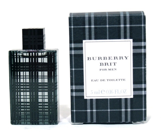 BRIT FOR MEN MINIATURE EAU DE TOILETTE 0.16oz