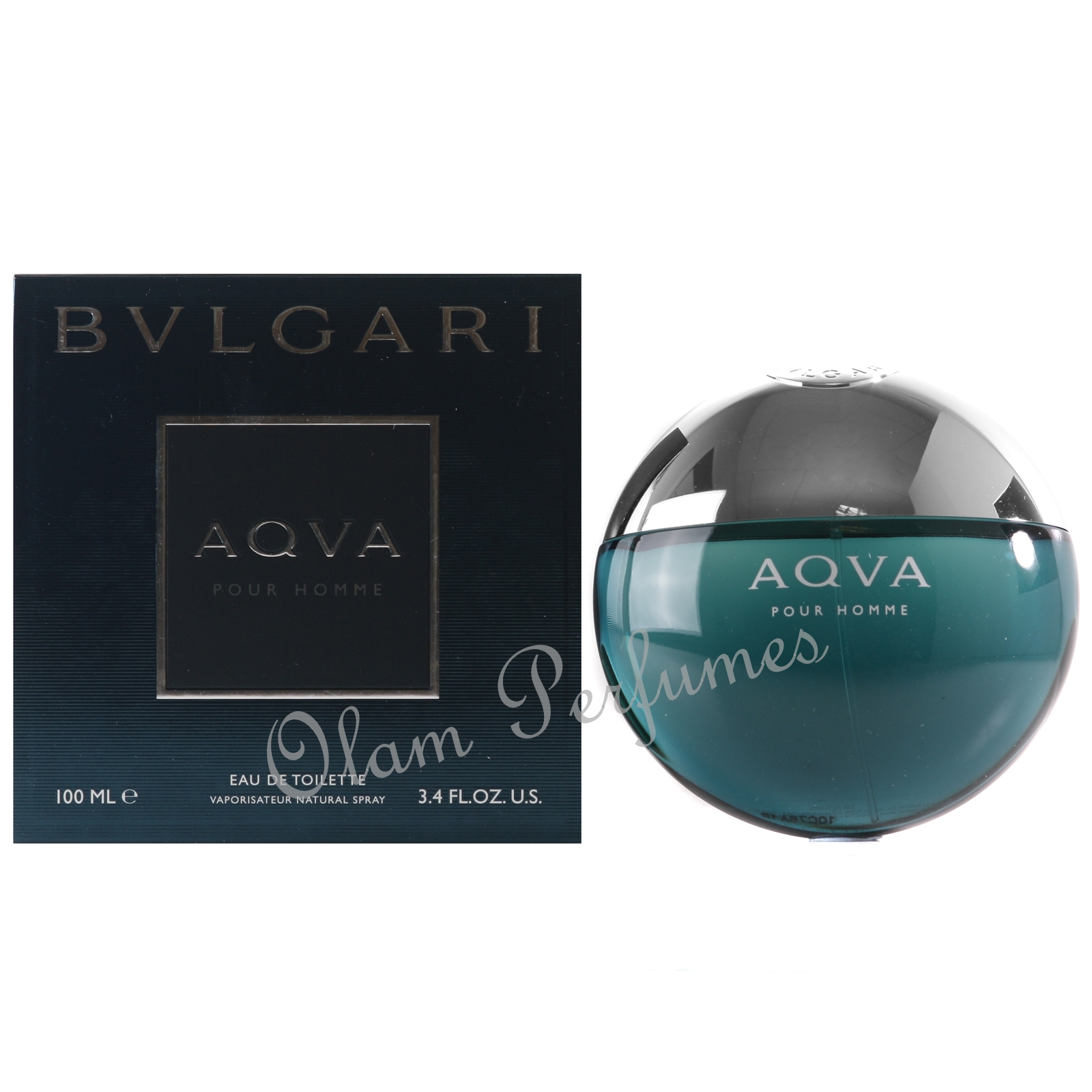 Bvlgari Aqva For Men 3.4oz 100ml