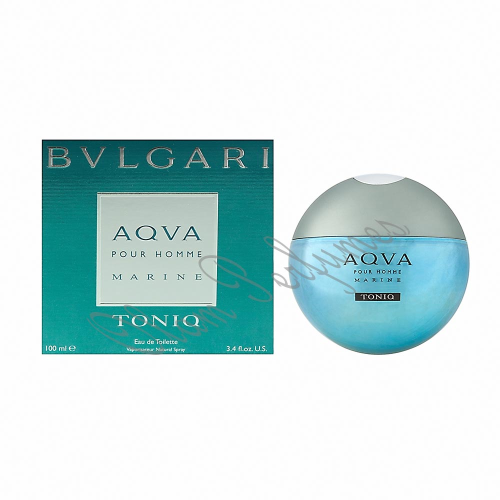 Bvlgari Aqva Marine Toniq Eau De Toilette Spray 3.4oz 100ml