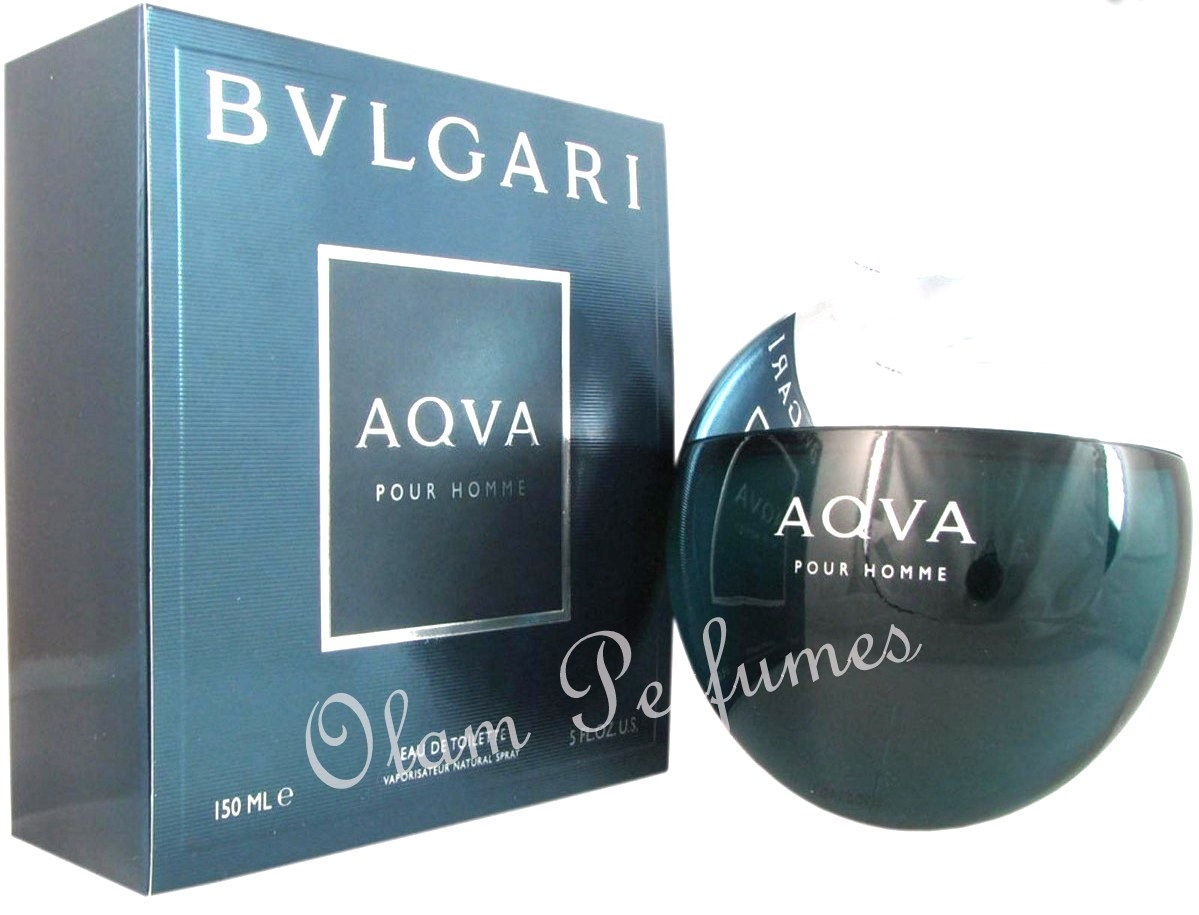 Bvlgari Aqva For Men Eau de Toilette Spray 5.0oz 150ml