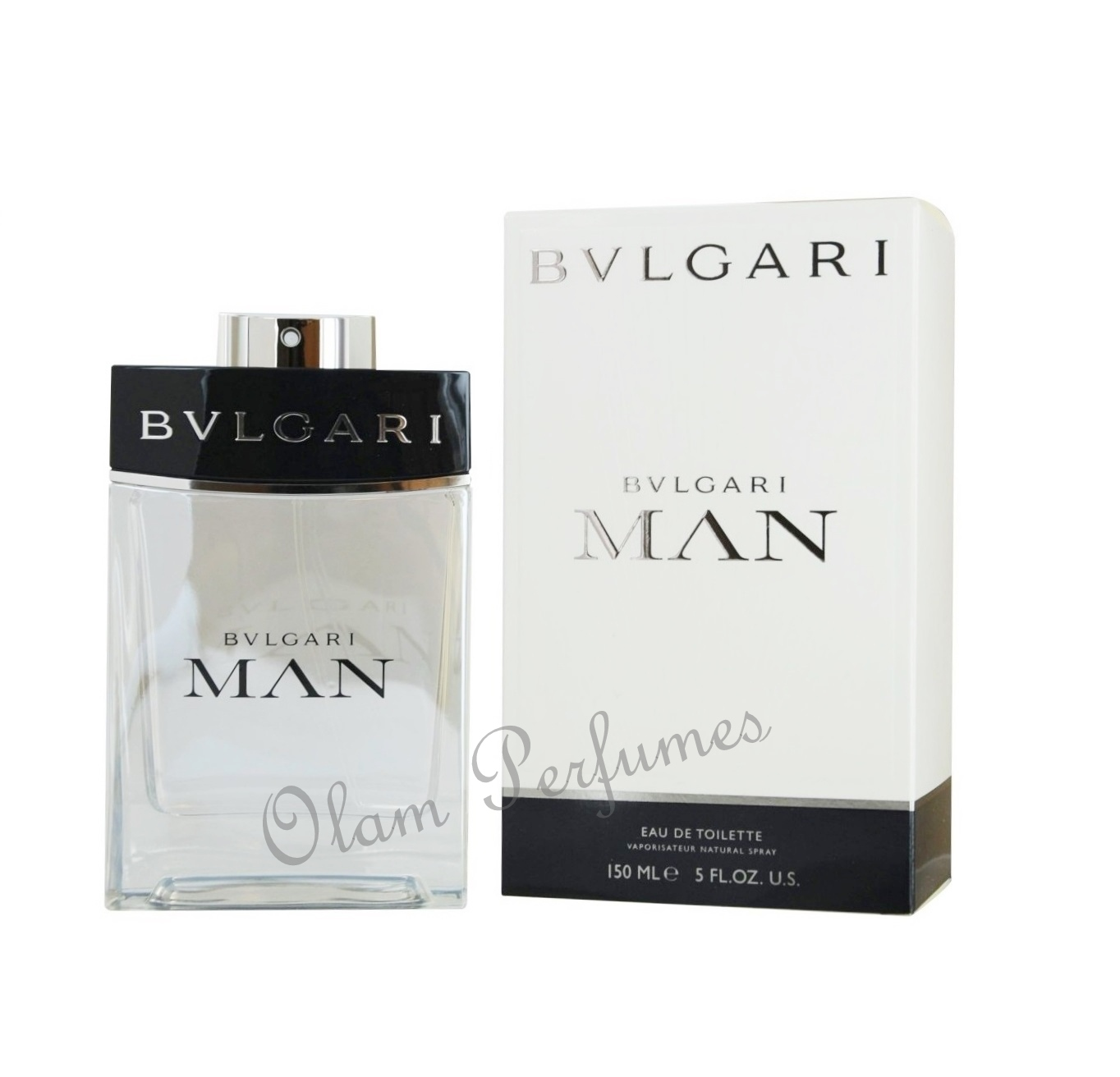Bvlgari Man Eau de Toilette Spray 5.0oz 150ml