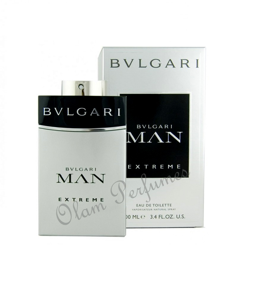 Bvlgari Man Extreme Eau de Toilette Spray 3.4oz 100ml