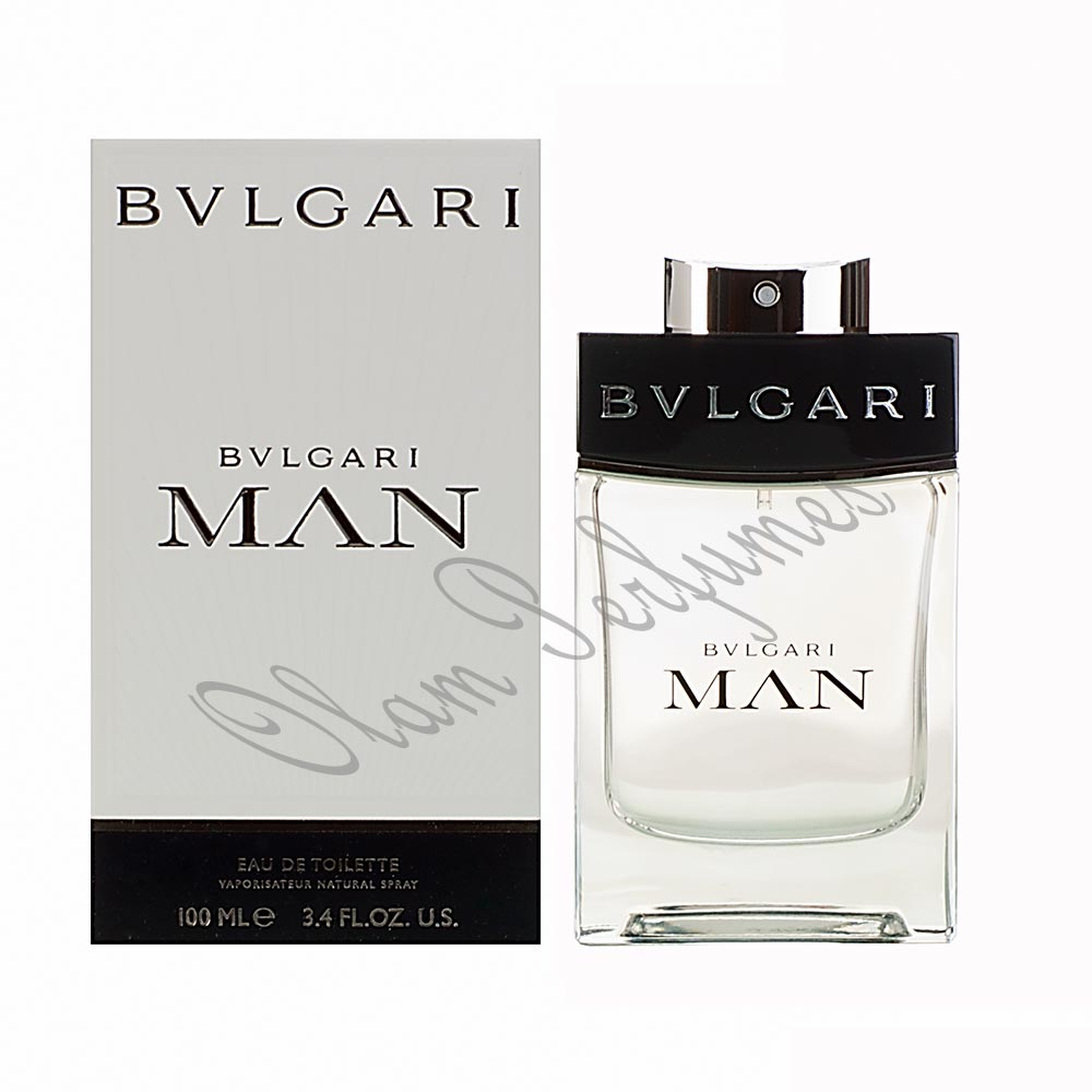 Bvlgari Man Eau de Toilette Spray 3.4oz 100ml