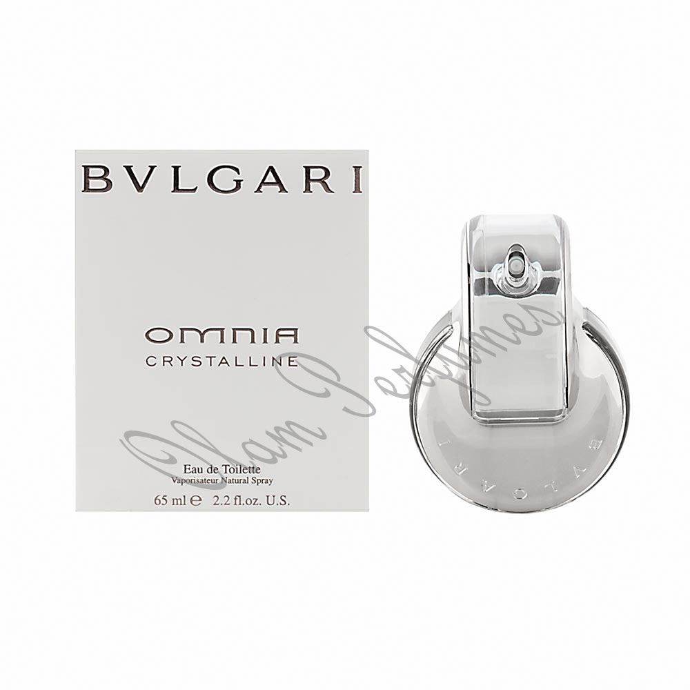 Bvlgari Omnia Crystalline Eau de Toilette Spray 2.2oz 65ml
