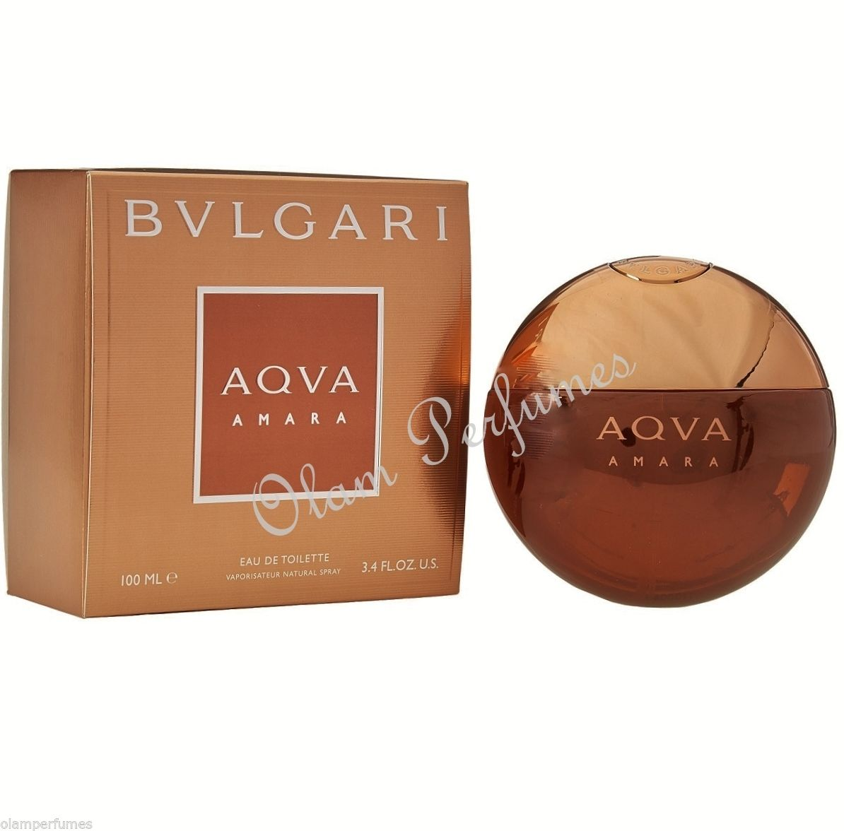 Bvlgari Aqva Amara For Men 3.4oz 100ml