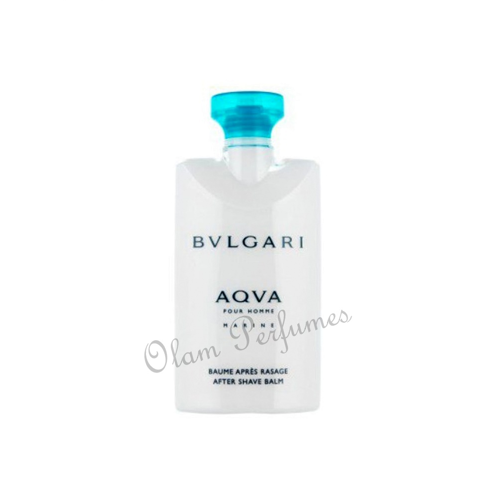 Bvlgari Aqva Marine After Shave Balm 2.5oz 75ml