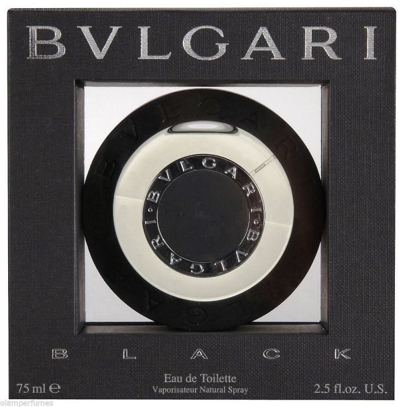 Bvlgari Black Eau de Toilette Spray 2.5oz 75ml