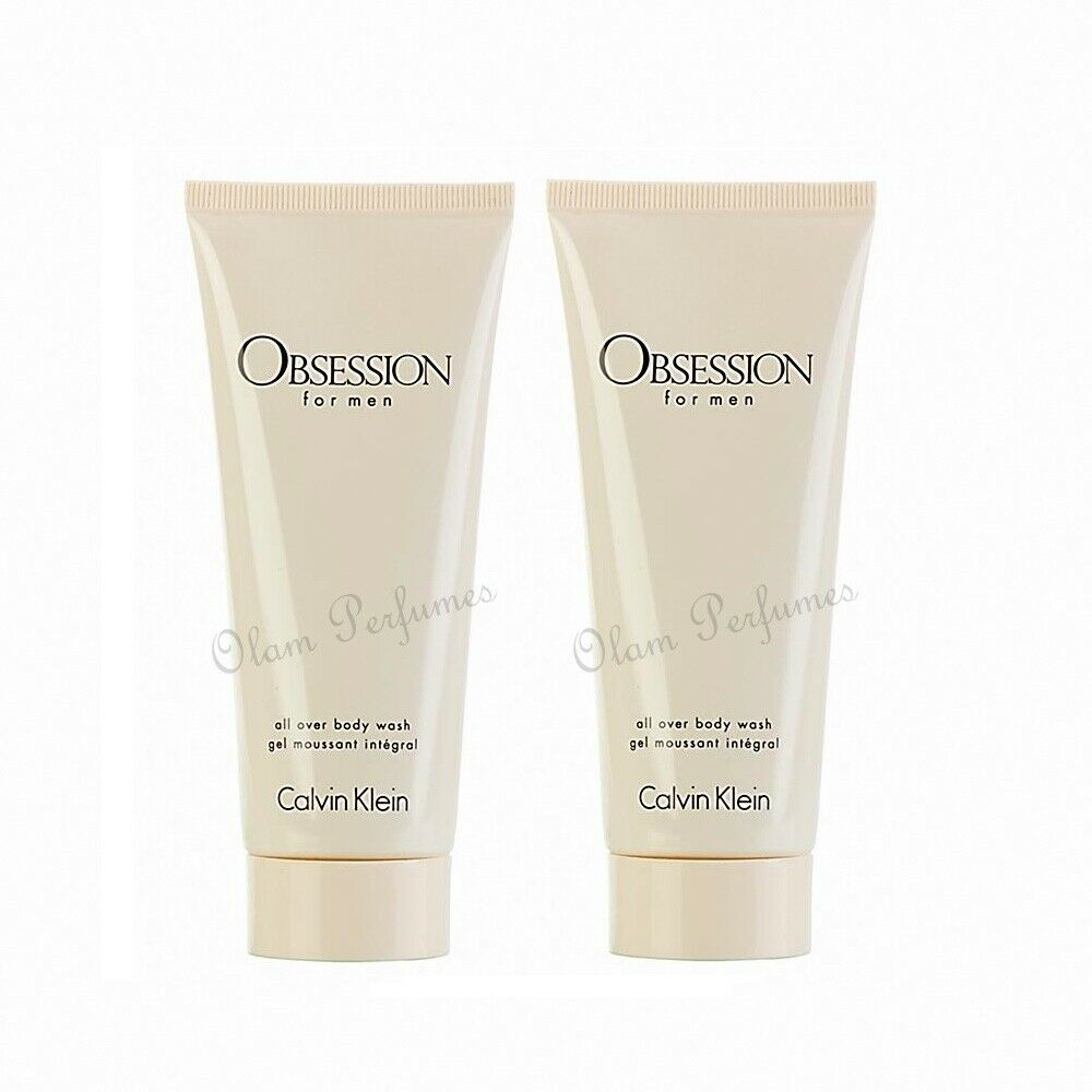 Calvin Klein Obsession All Over Body Wash Shower Gel Pack 6.8oz