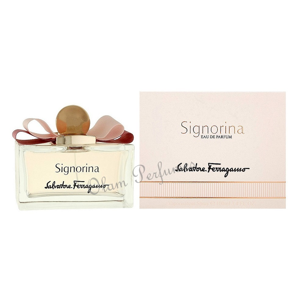 Ferragamo Signorina Eau de Parfum Spray 3.4oz 100ml