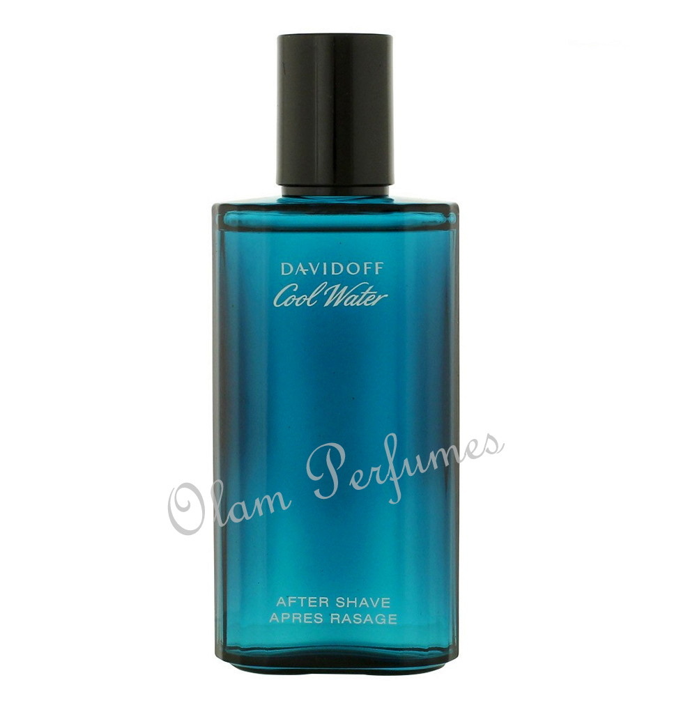 Davidoff Cool Water After Shave Lotion 2.5oz 75ml Unboxed