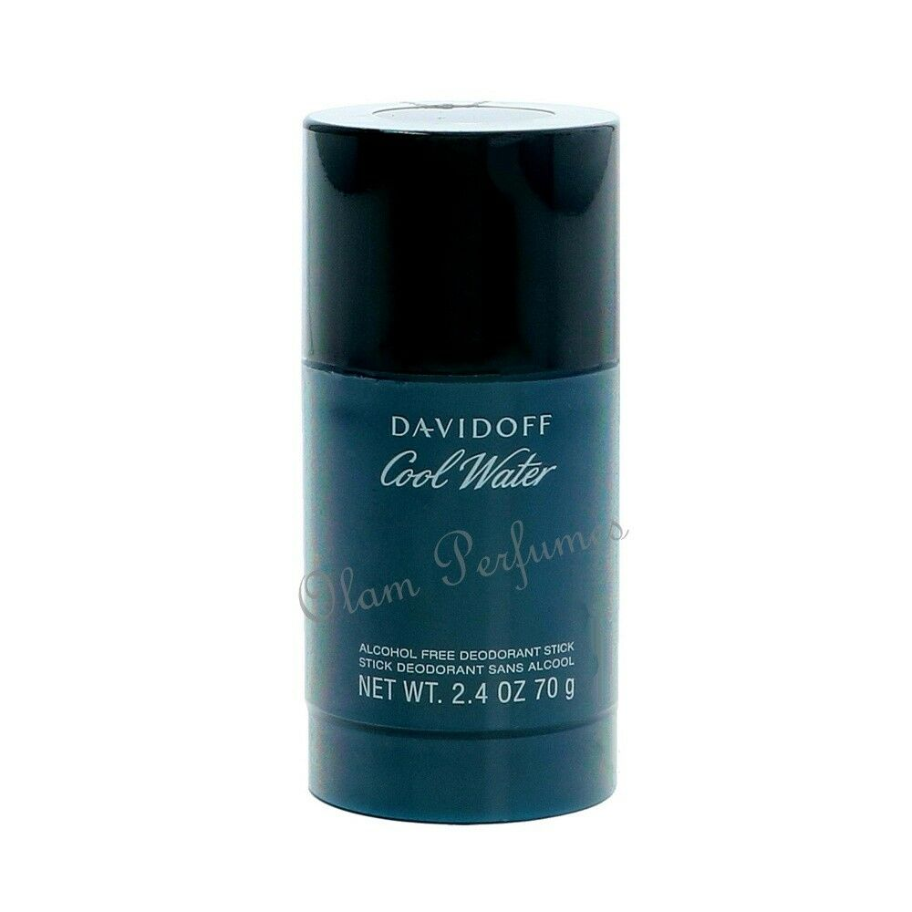 Davidoff Cool Water Alcohol Free Deodorant Stick For Men 2.4oz