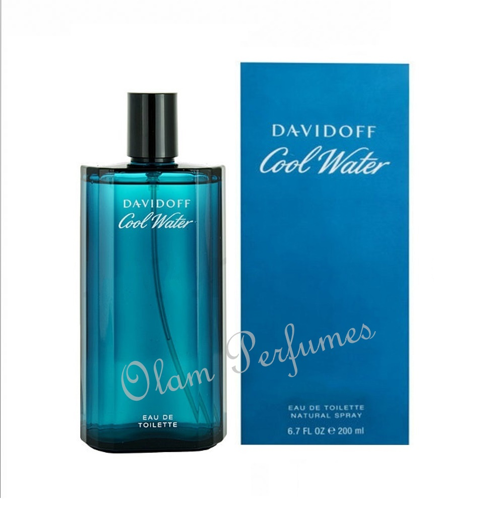 Davidoff Cool Water For Men Eau De Toilette Spray 6.7oz 200ml