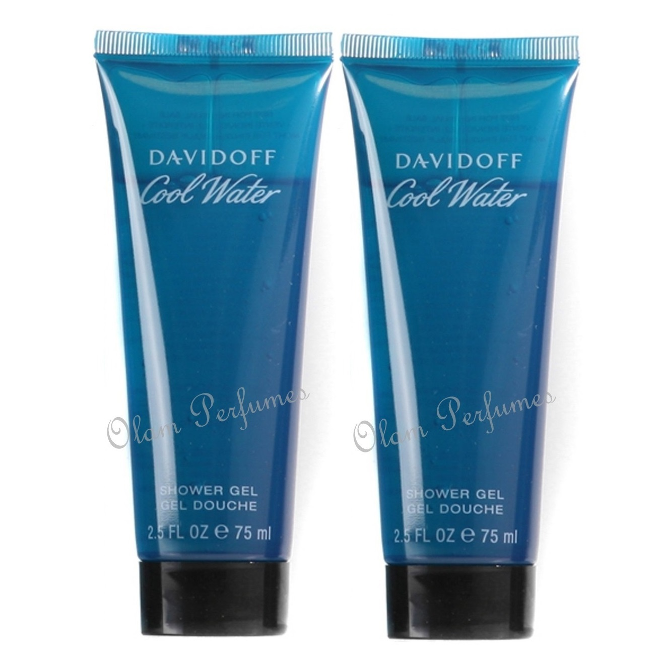 Davidoff Cool Water Bath & Shower Gel For Men Pack 5.0oz 150ml