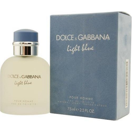 Dolce & Gabbana Light Blue Pour Homme Eau de Toilette 2.5oz 75ml