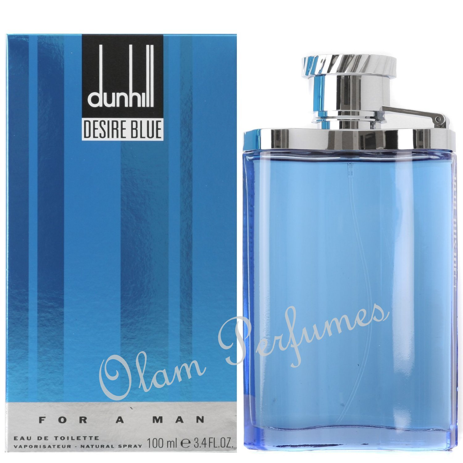 Dunhill Desire Blue Eau de Toilette Spray 3.4oz 100ml