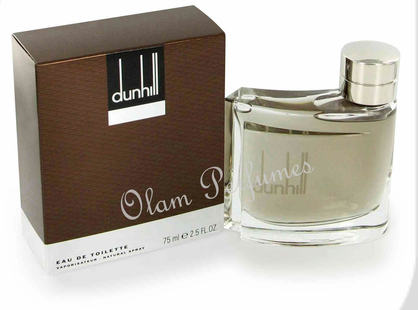 Dunhill Man (Brown) Eau de Toilette Spray 2.5oz 75ml
