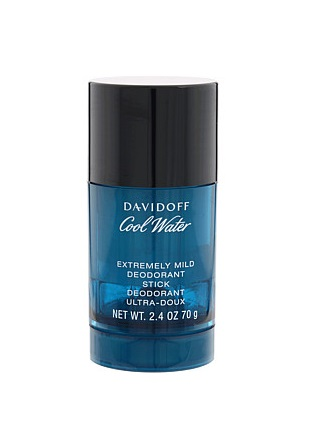 Davidoff Cool Water For Men Extremely Mild Deodorant Stick 2.4oz