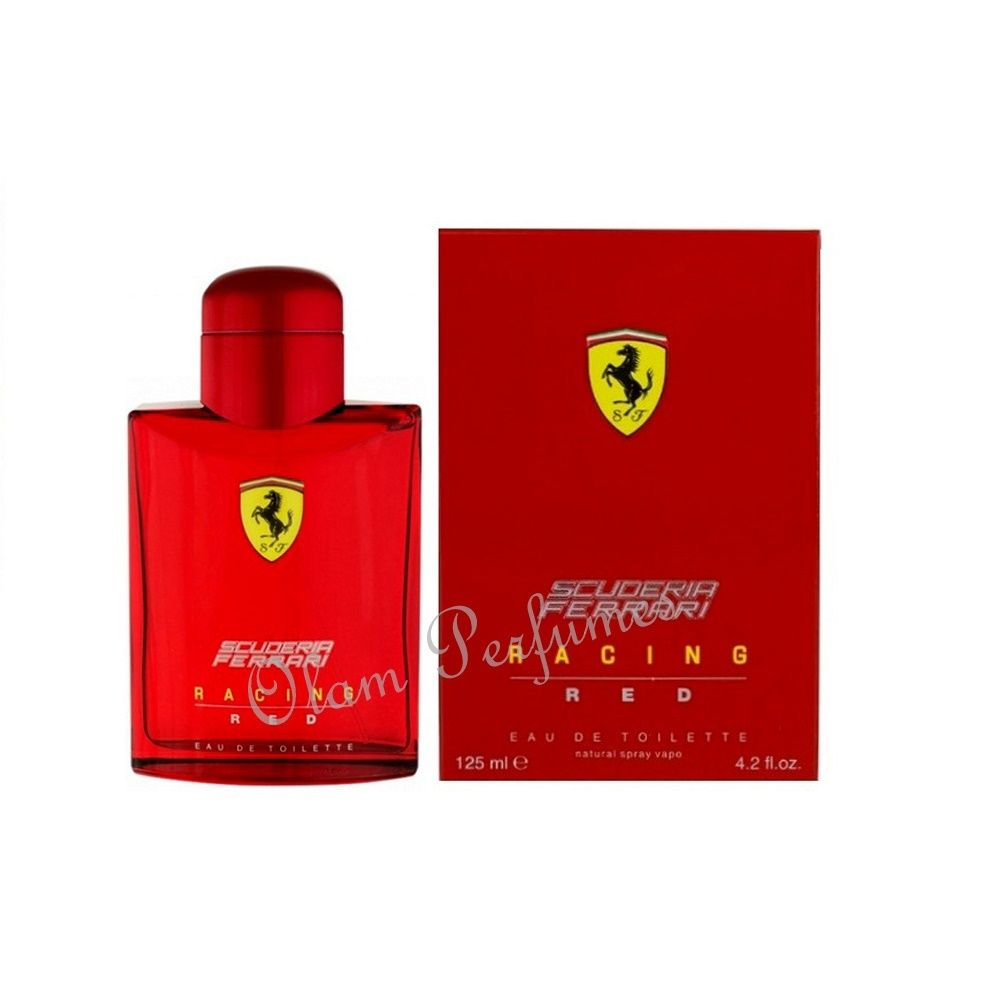 Scuderia Ferrari Racing Red Men Eau de Toilette Spray 4.2oz