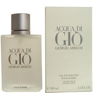 ACQUA DI GIO FOR MEN EAU DE TOILETTE SPRAY 3.4oz