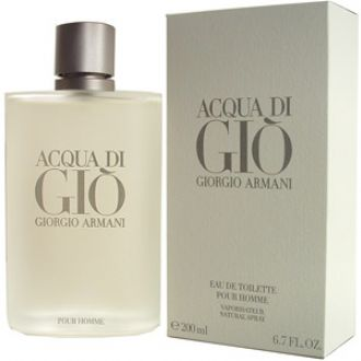 ACQUA DI GIO FOR MEN EAU DE TOILETTE SPRAY 6.7oz