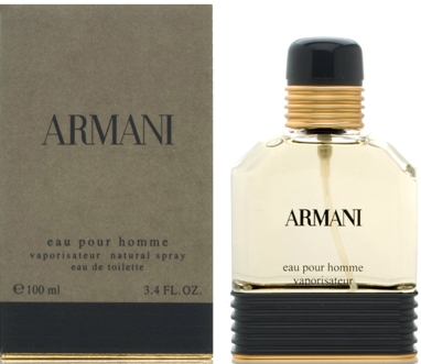 ARMANI FOR MEN EAU DE TOILETTE SPRAY 3.4oz
