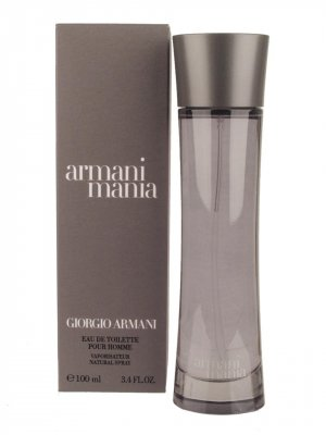 ARMANI MANIA FOR MEN EAU DE TOILETTE SPRAY 1.7oz