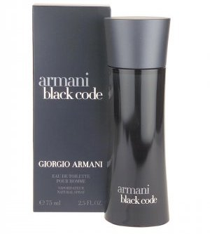 ARMANI CODE FOR MEN EAU DE TOILETTE SPRAY 4.2oz