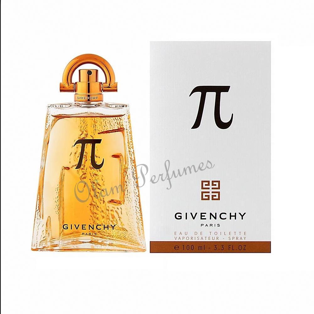 Givenchy Pi for Men Eau de Toilette Spray 3.3oz 100ml