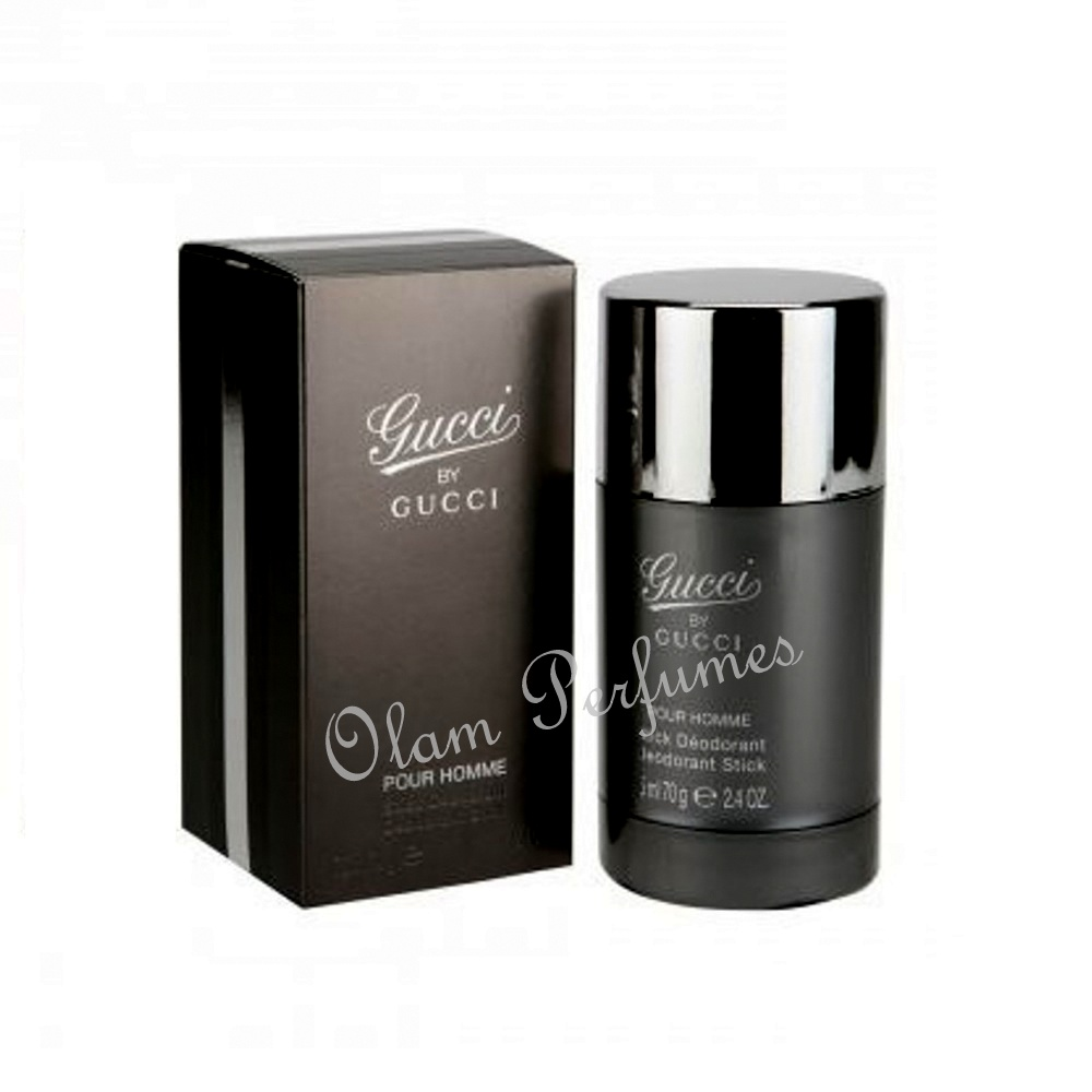 Gucci by Gucci Pour Homme Deodorant Stick For Men 2.4oz 70g