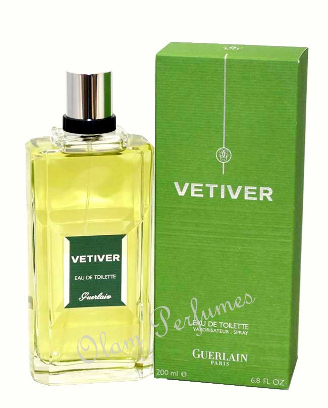 Guerlain Vetiver Eau de Toilette Spray 6.8oz 200ml