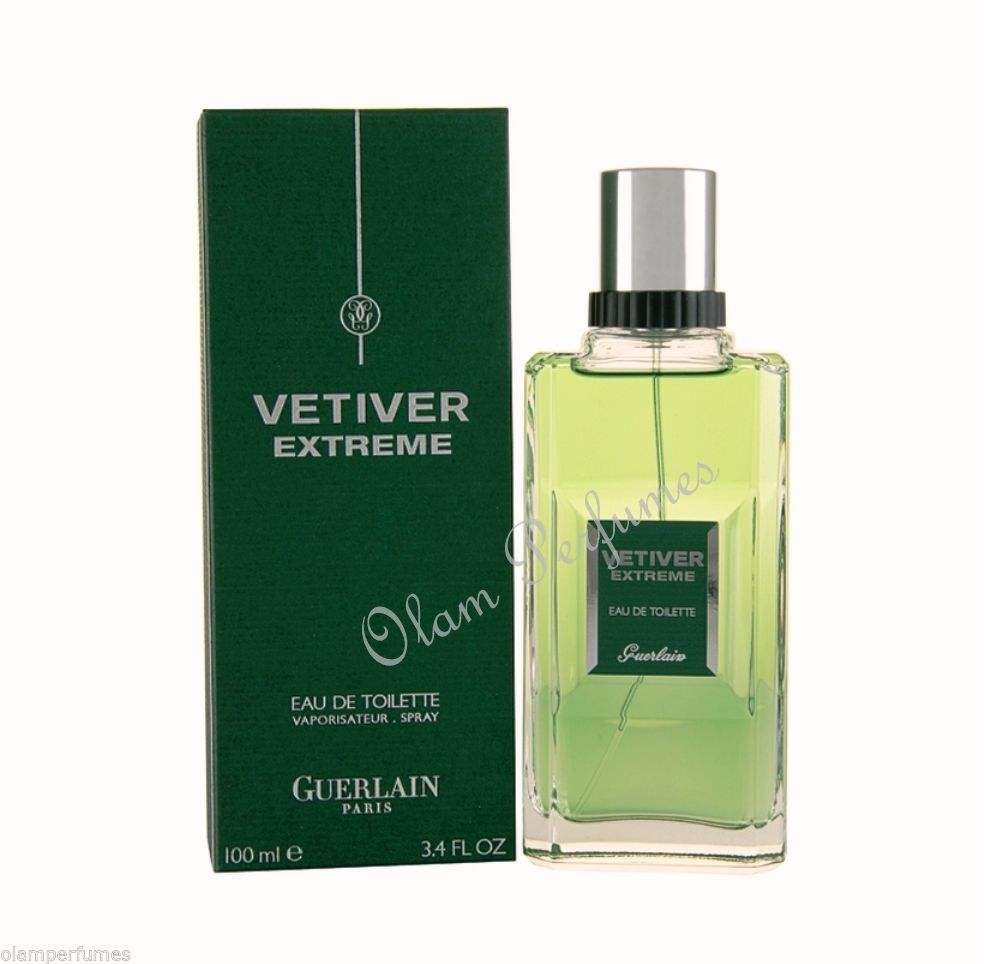 Guerlain Vetiver Extreme Eau de Toilette Spray 3.4oz 100ml