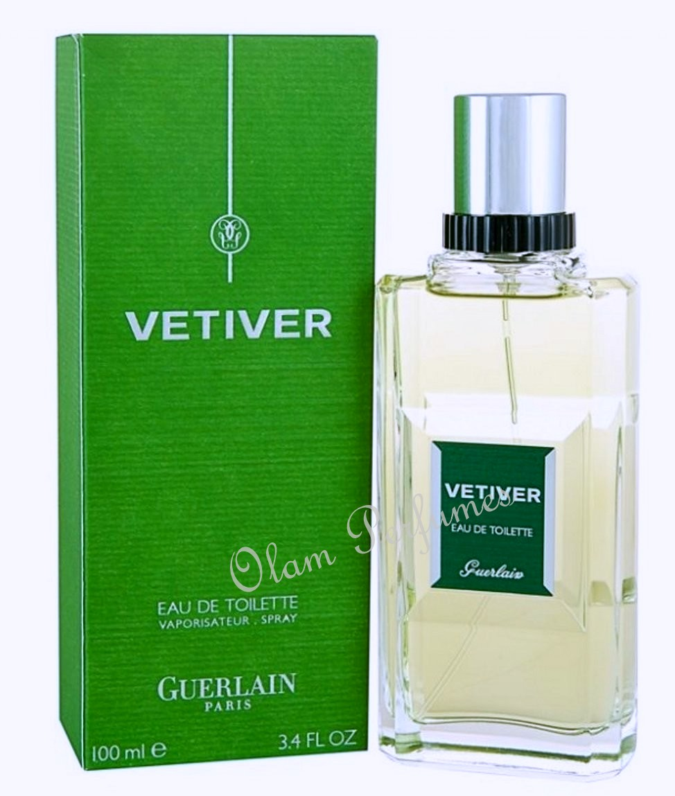 Guerlain Vetiver Eau de Toilette Spray 3.4oz 100ml