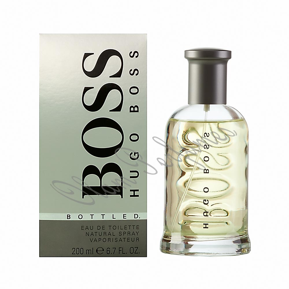 Boss Bottled For Men Eau De Toilette Spray 6.7oz 200ml by Hugo B