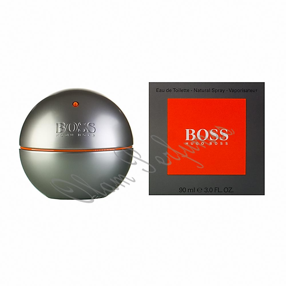 Boss In Motion For Men Eau Toilette Spray 3.0oz 90ml