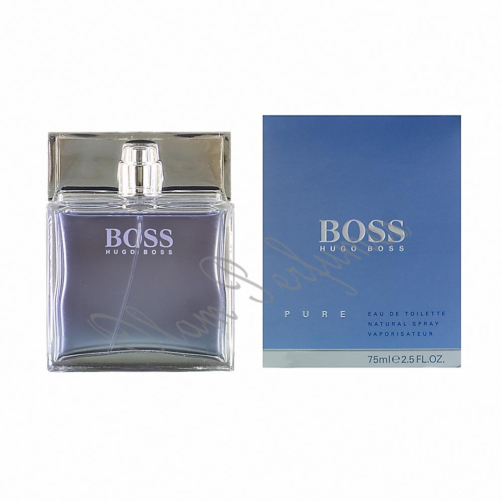 Boss Pure Eau De Toilette Spray 2.5oz 75ml