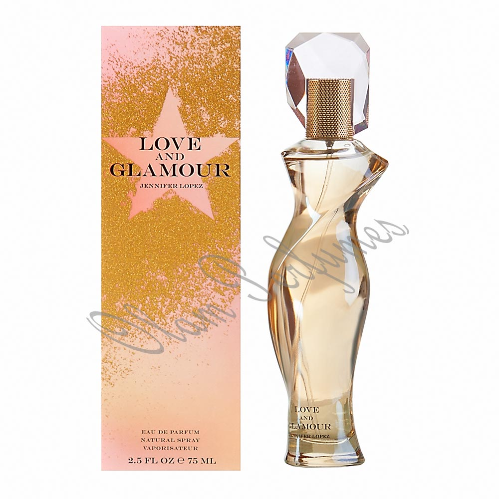 J.Lo Jennifer Lopez Love and Glamour For Women 2.5oz 75ml
