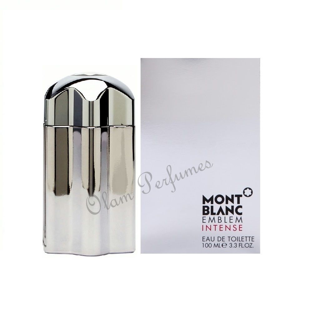 Mont Blanc Emblem Intense Men Eau De Toilette 3.3oz 100ml