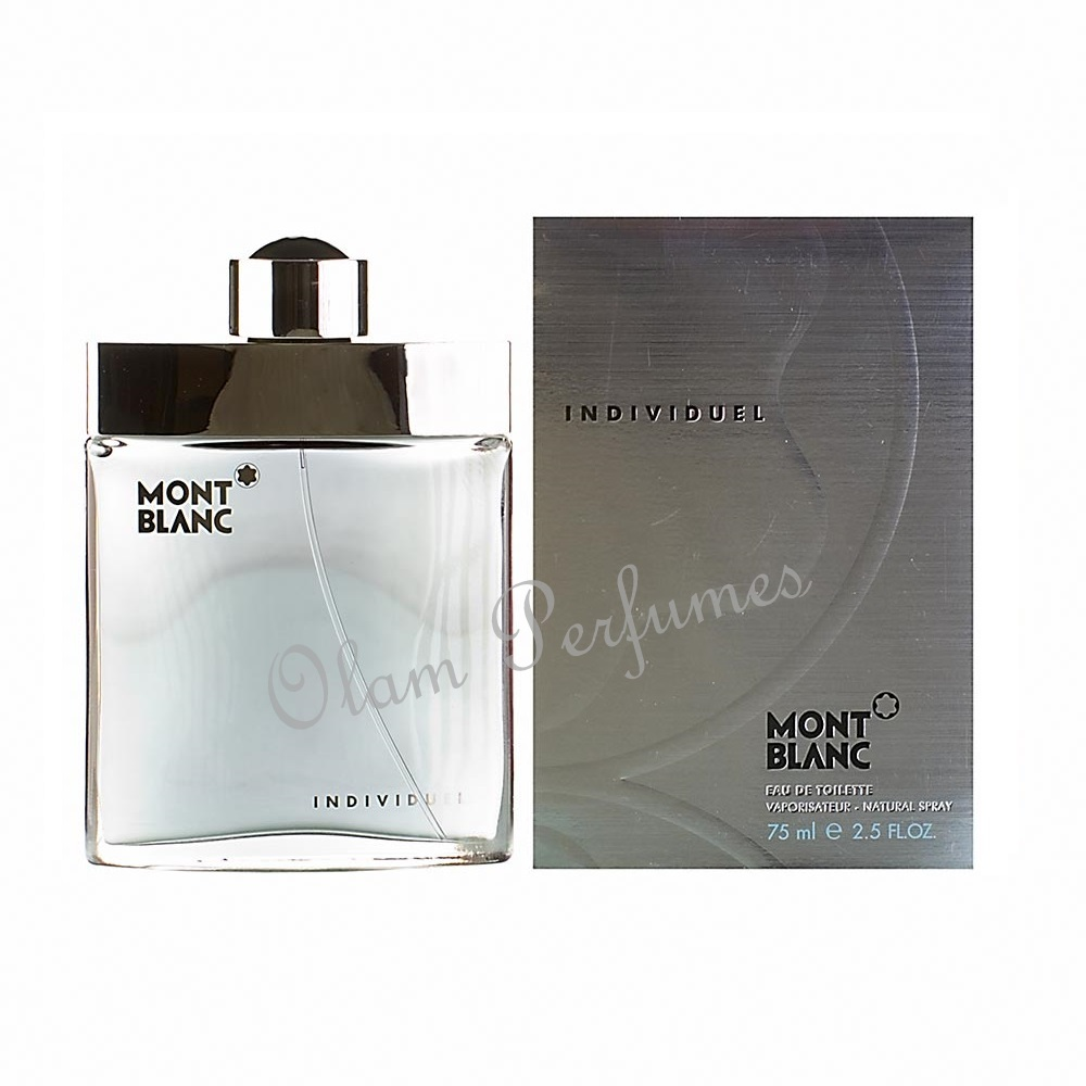 Mont Blanc Individuel For Men Eau De Toilette Spray 2.5oz 75ml