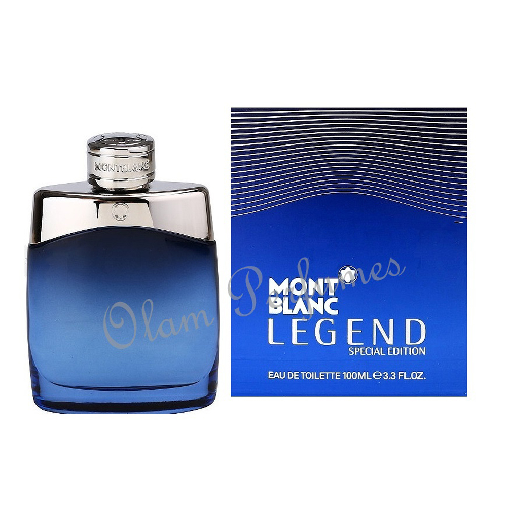 Mont Blanc Legend Special Edition For Men Eau de Toilette 3.4oz