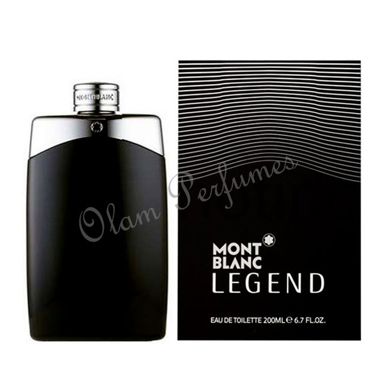Mont Blanc Legend For Men Eau De Toilette Spray 6.7oz 200ml