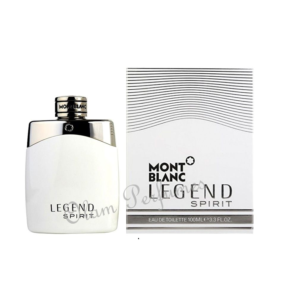 Mont Blanc Legend Spirit Eau de Toilette Spray For Men 3.3oz 100