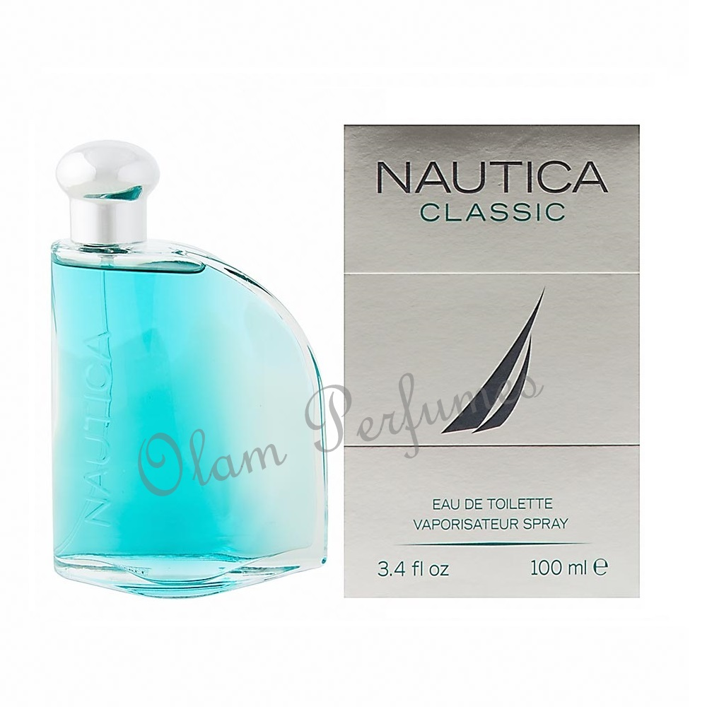 Nautica For Men Eau de Toilette Spray 3.4oz 100ml