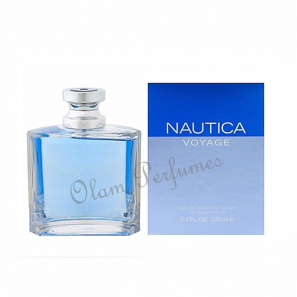 Nautica Voyage For Men Eau de Toilette Spray 3.4oz 100ml