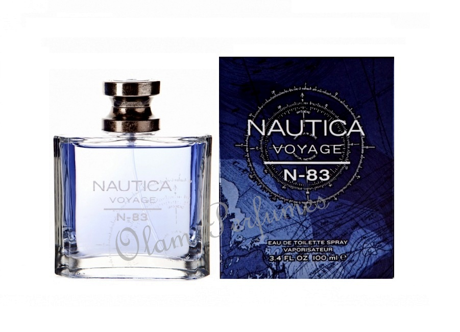 Nautica Voyage N-83 Men Eau de Toilette Spray 3.4oz 100ml