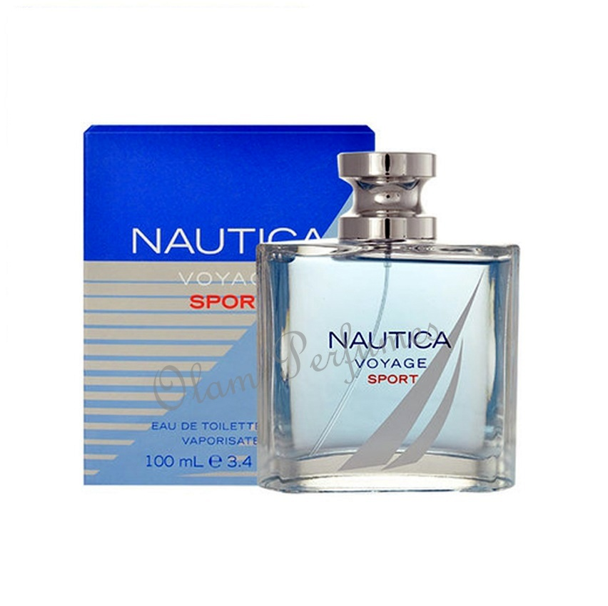 Nautica Voyage Sport Men Eau de Toilette Spray 3.4oz 100ml